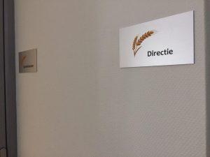 Bordje directie