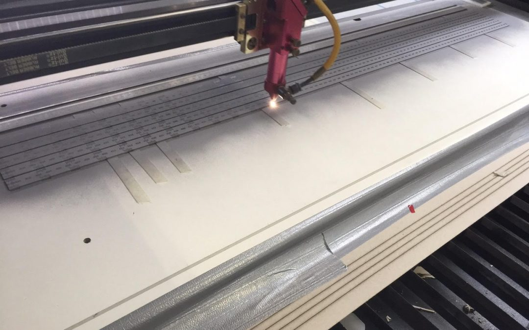 Lasergraveren Liniaal