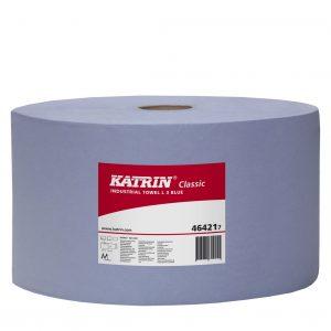 Katrin 464217 Blauwe Poetsrollen 220x380,0m