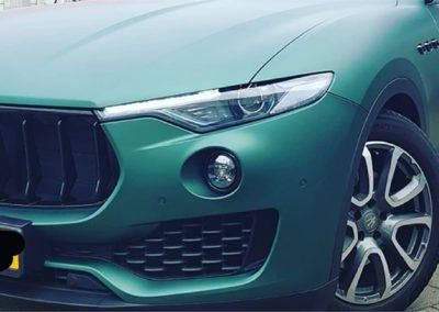 Maserati wrappen