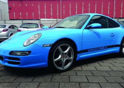 Porsche wrappen