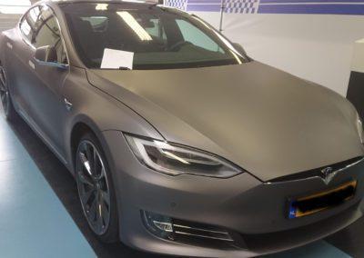 Tesla wrappen